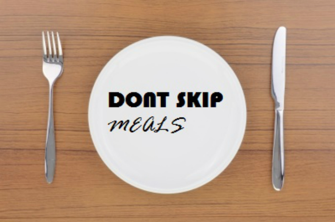 The bad side of skipping meals