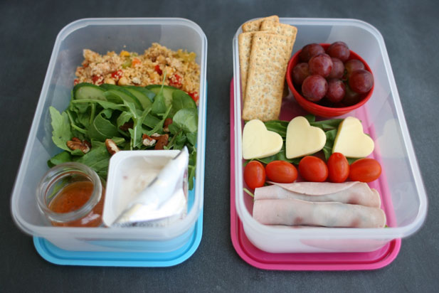 Help yourself by carrying food to the office